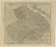 Antique Map Of Bohemia By Homann Heirs 1748