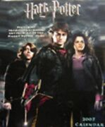 Harry Potter Wall Calendar - Collectible Past-year New And Factory Sealed