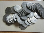Roll Of 1924 Canada Five Cents Coins. 40 Coins Rj