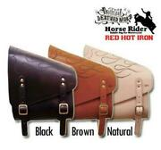 Rough Tail Horse Rider Red Hot Iron Plain Leather Made In Japan All 3 Colors