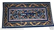 4and039x2and039 Marble Dining Room Table Top Marquetry Inlay Beautiful Love Gifts Decor