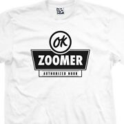 Ok Zoomer T-shirt - Authorized Noob Used Car Parody Meme Tee All Sizes And Colors