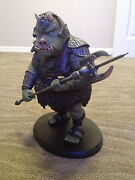 Attakus Collection Gamorrean Guard Star Wars Statue W Box -official Lucasfilms