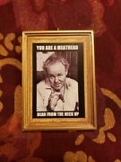 You Are A Meathead Archie Bunker All In The Family Christmas Ornament/magnet/dhm