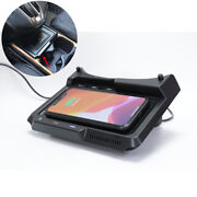 For 17-19 Honda Cr-v 10w Qi Wireless Usb Center Console Phone Charger Pad Box 1x