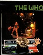 The Who Autographed Concert Program Signed By John Entwistle Twice And K Jones