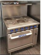 Imperial 6 Burner Electric Range With Oven