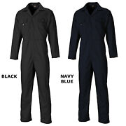 Redhawk Economy Stud Front Coverall -navy Blue/black - Wd4819r Mlxl