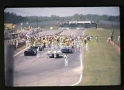 1971 Can-am Mid-ohio - Pre-race Starting Grid - Vintage 35mm Race Slide