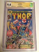Cgc 9.4 Ss Thor 247 30 Cent Price Variant Signed By Stan Lee Not 9.8