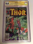 Cgc 9.4 Ss Thor 347 Newsstand Signed Lee Simonson And Shooter Not 9.8 1st Algrim