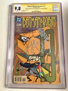 Cgc 9.8 Ss Batman And Robin Adventures 13 Signed Conroy, Lester, Combs, Timm +2