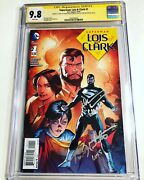 Cgc 9.8 Ss Superman Lois And Clark 1 Signed By Dean Cain And Teri Hatcher