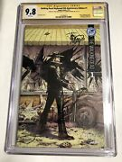 Cgc Ss 9.8 Walking Dead 1 Skybound 5th Anniversary Signed Kirkman And Moore
