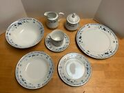 65-piece Set Sango Valencia Pattern 8223 Fine China New In Box 1980and039s Vintage