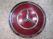 One 1 Mercedes Benz Dog Dish Hubcap Wheel Cover Id 9.25 Od 9.50 2.75 Tall