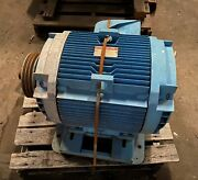 General Electric Motor Model 5k364al2050 Hp 60 Rpm 1780 Phase 3