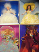 Barbie Enchanted Seasons Collection Spring Summer Autumn Winter 4 Dolls New Nrfb