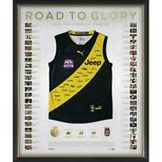 Richmond Tigers 2019 Premiers Team Signed Guernsey Road To Glory Martin Afl