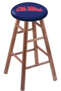 Holland Bar Stool Co. Maple Vanity Stool In Medium Finish With Oleand039 Miss Seat...