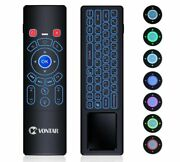 Remote 2.4ghz Wireless Keyboard Touchpad Air Mouse For Android Tv Pc Projector