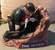 1982 Mount Hope Miner Series Decanter Second In Series Limited Edition