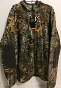 Under Armour Stealth Fleece Realtree Control Scent Jacket Hoodie 1283119-947 S
