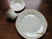 Lovely Lenox Meadow Song Retired 3 Pc Place Set Nice