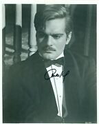 Omar Sharif Signed Autographed Photo Lawrence Of Arabia Actor Celebrities