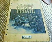 Used Yamaha Snowmobile Technical Update 1997 Manual Service