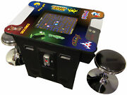 Retro Classic Arcade Game Machine Upgraded 412 Game Console With Free Stools