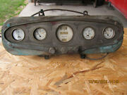 Marmon Dash French Stewart Warner Complete With 4 Gauges, Speedo Choke And Switch.