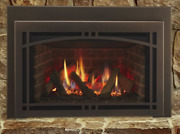 Majestic Ruby 35 Direct Vent Natural Gas Insert With Remote Control And Log Set
