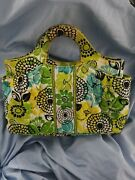 Nwt Vera Bradley Abby Limes Up Bag Nice And Bright Makes A Great Gift