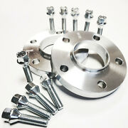 2x 20mm Billet Aluminum Wheel Spacers 5x120 Cb 72.6 For Bmw 3 Series Up To 2010
