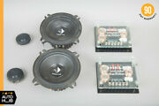 Helix Precision 13 Cm Speaker P205 2 Way Component Crossover Cross Over Oem