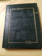 Ole Miss University Of Mississippi 1991 Yearbook Annual Oxford Ms