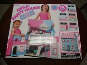 J'adore Girl's Party Doll House- 25 Piece Wood Toy- 20 L X 11.8 W X 23.4 H