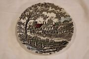 Myott Royal Mail Plate Fine Staffordshire Ware Made In England 1982