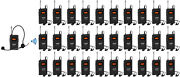 Wireless Tour Guide System Church Translation System Tour Guides 30 Receivers