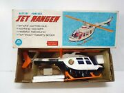 Alps 6082 Battery Powered Jet Ranger Police Helicopter Boxed Nos Am489