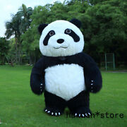 Easter 2m Tall Animal Cartoon Panda Inflatable Costume Mascot For Adult Suitable