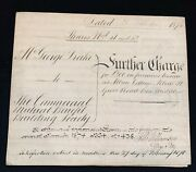 1874 Further Charge Indenture Vellum, 1800s, Drake, Commercial Building Society