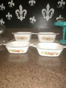 Spice Of Life Casserole Dishes. Set Of Four All Different Sizes