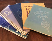Vintage California High School Yearbooks Shandon 1940s Lot 5 Collectible Photos