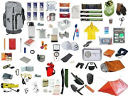 3 Day Grey Emergency Survival Kit Bug Out 25 L Bag Disaster Earthquake 72 Hour