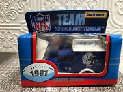 Indianapolis Colts - 1991 - Nfl Team Matchbox Collectible Diecast - New In Box