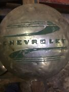 1 Used 1937 Chevy Pick Up Truck Hub Cap Only 1 Leftandnbsp