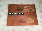 Marklin 1959 100 Year Anniversary Catalog In English With Us Prices