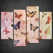 Water Butterflies Canvas Print Picture Wall Hanging Art Home Decor Free Delivery